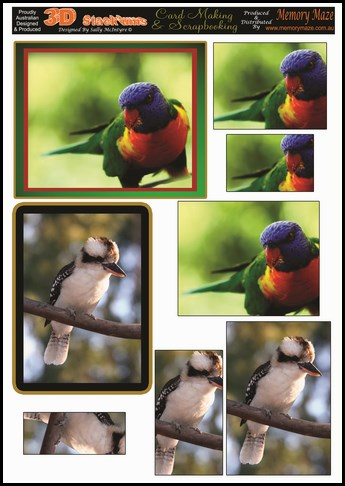 **STACKUMS A4 CARD SHEETS